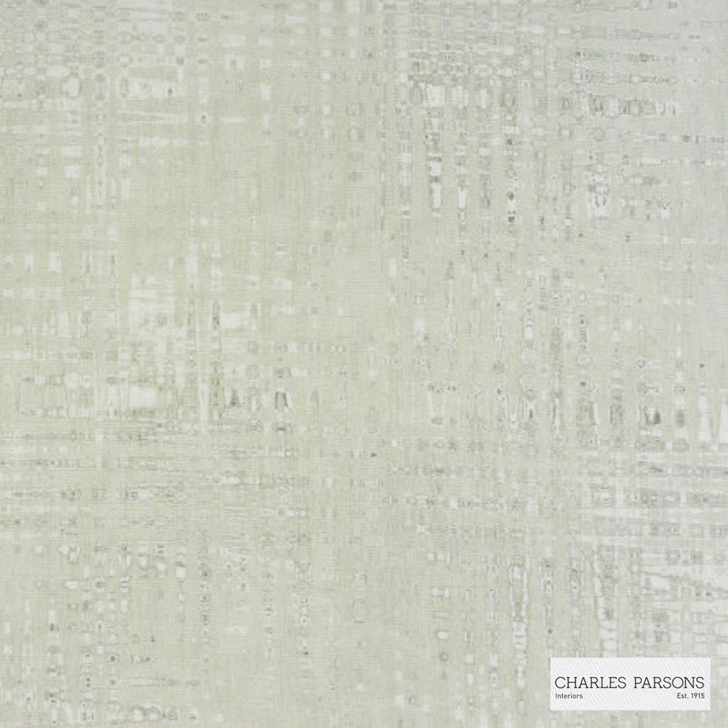Charles Parsons Interiors - Amore Wheat | Curtain Sheer Fabric - Fire Retardant, Grey, Uncoated, Geometric, Brush Stroke