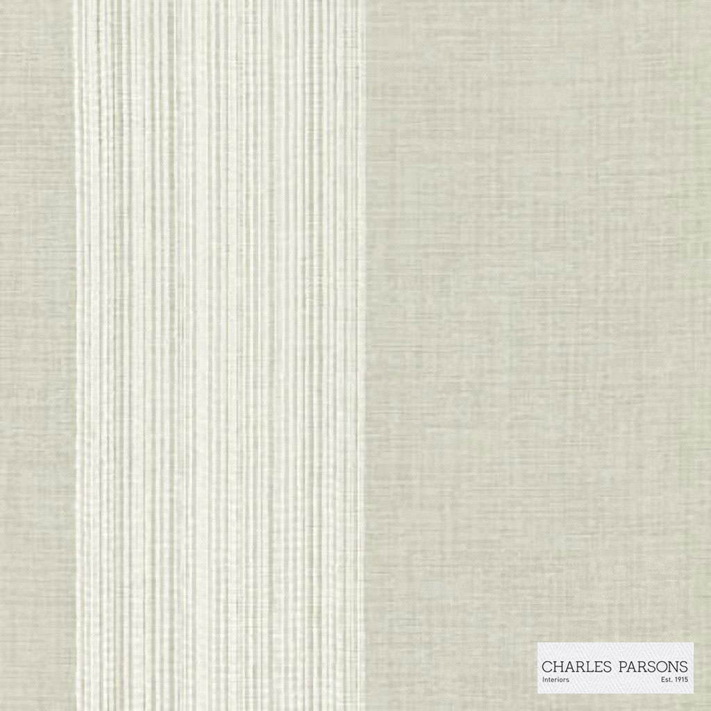 Charles Parsons Interiors - Madeleine Sheer Silk  | Curtain Sheer Fabric - Beige, Stripe, Uncoated, Weave, Commercial Use