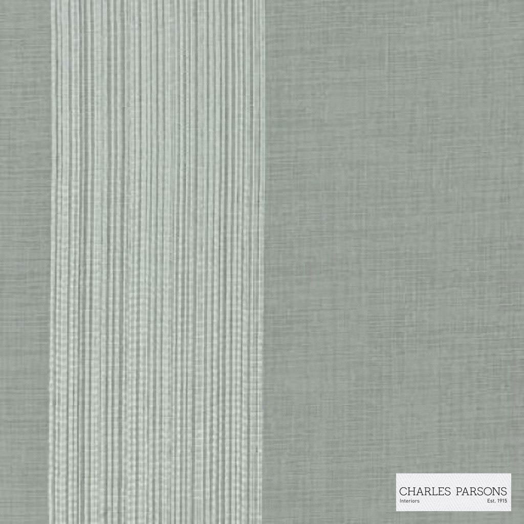 Charles Parsons Interiors - Madeleine Sheer Silver  | Curtain Sheer Fabric - Stripe, Uncoated, Weave, Commercial Use