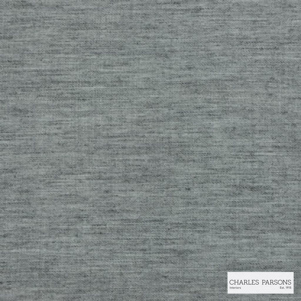 Charles Parsons Interiors - Tenerife Flint | Curtain Sheer Fabric - Grey, Uncoated, Plain