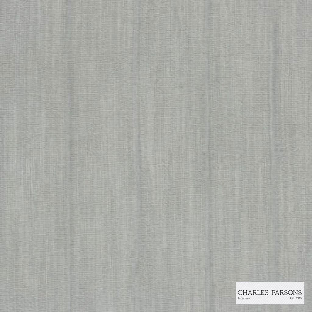 Charles Parsons Interiors - Harper Silver  | Curtain Sheer Fabric - Fire Retardant, Stripe, Uncoated, Weave, Commercial Use