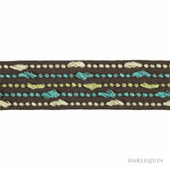 Harlequin Elini 150055  | Gimps & Braids, Curtain & Upholstery Trim - Blue, Contemporary, Harlequin, Synthetic, Commercial Use, Domestic Use