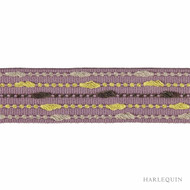 Harlequin Elini 150057  | Gimps & Braids, Curtain & Upholstery Trim - Contemporary, Harlequin, Pink, Purple, Synthetic, Commercial Use, Domestic Use