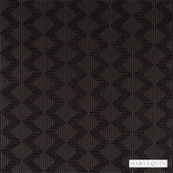 Harlequin Concept 130673  | Curtain & Upholstery fabric - Brown, Fibre Blends, Geometric, Harlequin, Midcentury, Chevron, Zig Zag, Commercial Use, Diamond - Harlequin