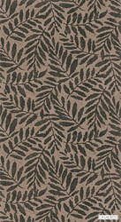 Casadeco Summer Wallpaper 8375 - 8375 95 11 | Wallpaper, Wallcovering - Brown, Floral, Garden, Botantical, Decorative, Pattern, Organic
