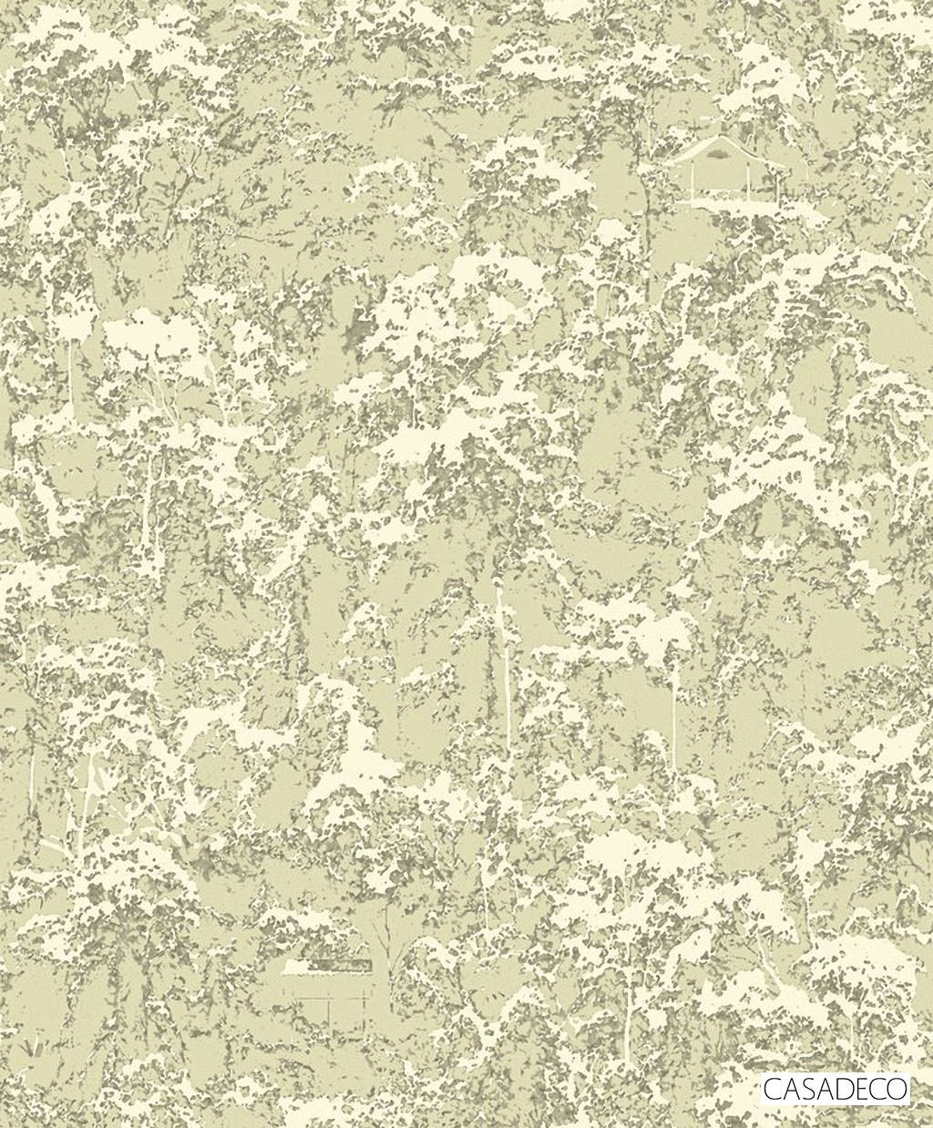 Casadeco Terebro Wallpaper 8264 - 8264 71 36  | Wallpaper, Wallcovering - Green, Decorative, Pattern, Standard Width