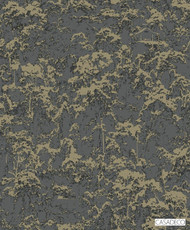 Casadeco Terebro Wallpaper 8264 - 8264 94 34  | Wallpaper, Wallcovering - Black, Charcoal, Gold, Yellow, Decorative, Pattern, Standard Width
