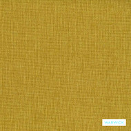 Warwick Beachcomber - Manuka  | Upholstery Fabric - Stain Repellent, Gold,  Yellow, Plain, Synthetic, Tan, Taupe, Commercial Use, Halo, Standard Width