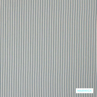Warwick Calverton - Marine  | Curtain Fabric - Blue, Fibre Blends, Stripe, Transitional, Commercial Use, Standard Width