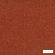 Warwick Oden - Brick  | Upholstery Fabric - Stain Repellent, Plain, Terracotta, Synthetic, Commercial Use, Halo, Standard Width
