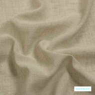 Warwick Sicily - Birch  | Curtain Fabric - Beige, Wide-Width, Plain