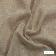 Warwick Sicily - Buff  | Curtain Fabric - Beige, Wide-Width, Plain