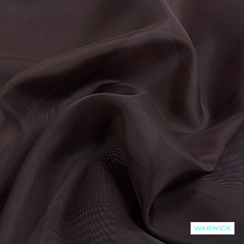 Warwick Marley - Coco  | Curtain Fabric - Brown, Plain, Synthetic, Tan, Taupe, Wide Width