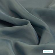 Warwick Marley - Denim  | Curtain Fabric - Blue, Wide-Width, Plain