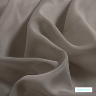 Warwick Marley - Flint  | Curtain Fabric - Grey, Plain, Black - Charcoal, Synthetic, Wide Width