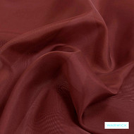 Warwick Marley - Hepburn  | Curtain Fabric - Plain, Red, Pink, Purple, Synthetic, Wide Width