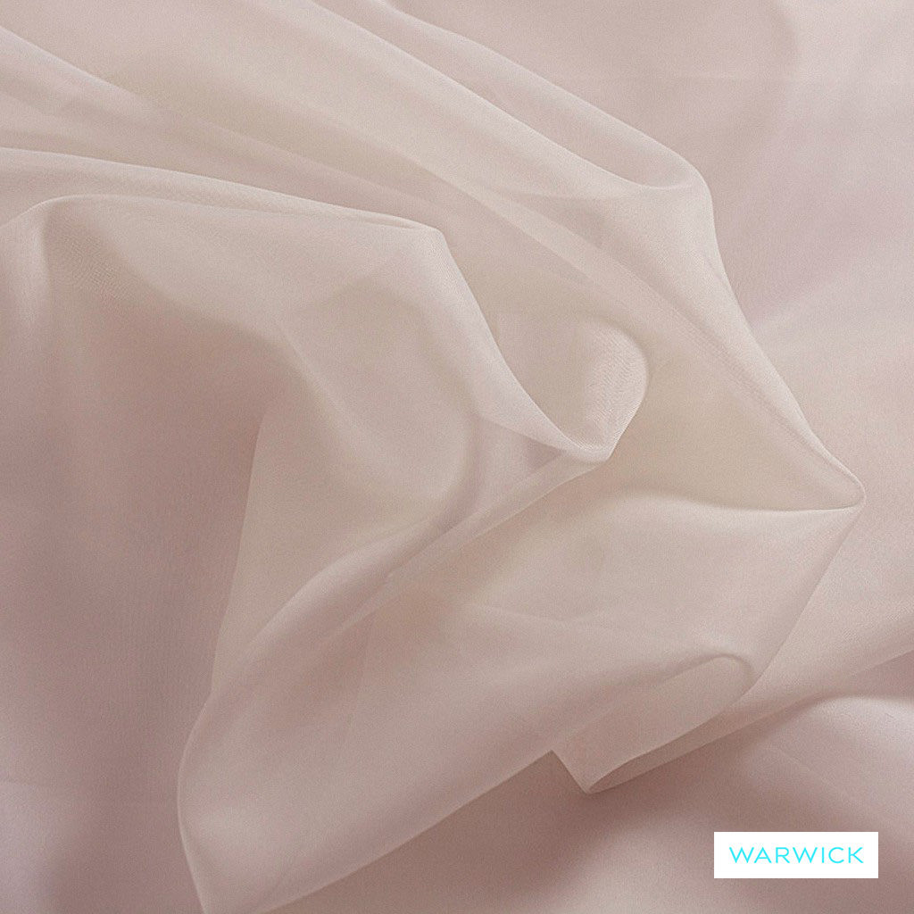 Warwick Marley - Musk  | Curtain Fabric - Plain, Red, Pink, Purple, Synthetic, Wide Width