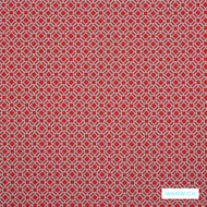 Warwick Yasawa - Hibiscus | Curtain Fabric - Red, Contemporary, Outdoor Use, Geometric, Bacteria Resistant, Insect Resistant, Stain Repellent