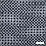 Warwick Yasawa - Marine    Curtain Fabric - Stain Repellent, Blue, Circlelink, Contemporary, Geometric, Outdoor Use, Small Scale, Synthetic, Halo