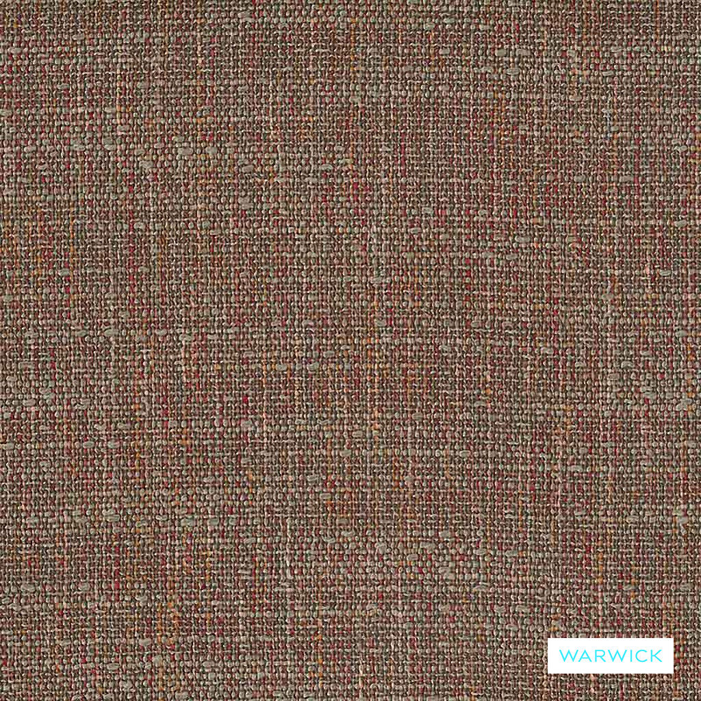 Warwick Zion - Mulberry  | Upholstery Fabric - Brown, Bacteria Resistant, Insect Resistant, Stain Repellent, Water Repellent, Plain, Standard Width