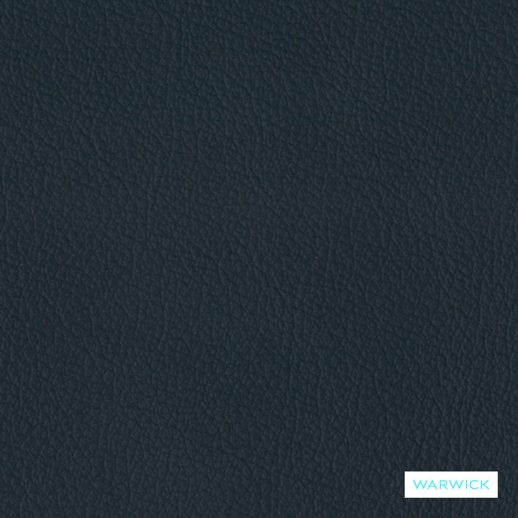 Warwick Tm La Casa - Navy  | Upholstery Fabric - Blue, Leather, Plain, Natural Fibre, Commercial Use, Natural, Standard Width