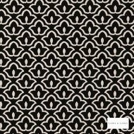 Clarke & Clarke - Bw1014 Blackwhite 2  | Curtain & Upholstery fabric - Black, Charcoal, Geometric