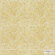 Morris and Co - Sunflower Etch DMORSU204  | Curtain & Upholstery fabric - Gold,  Yellow, Art Noveau, Craftsman, Floral, Garden, Natural Fibre, Domestic Use, Natural