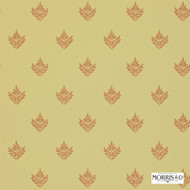 Morris and Co - Pearwood DMORPE106  | Wallpaper, Wallcovering - Gold,  Yellow, Craftsman, Floral, Garden, Foulard, Small Scale, Traditional, Commercial Use, Domestic Use