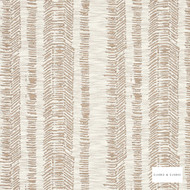 Clarke & Clarke - Jaina Taupe  | Curtain & Upholstery fabric - Beige, Stripe, Natural, Natural Fibre