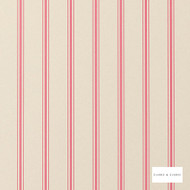 Clarke & Clarke - Jolie Wp Raspberry  | Wallpaper, Wallcovering - Pink, Purple, Stripe, Traditional, Wide-Width, Print, Paper Based