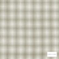 Clarke & Clarke - Kahlo Check Natural  | Curtain & Upholstery fabric - Beige, Traditional, Check, Gingham, Pattern, Fibre Blend