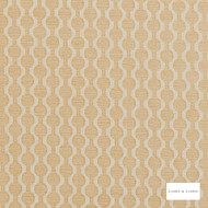 Clarke & Clarke - Lazzaro Gold  | Curtain & Upholstery fabric - Gold, Yellow, Geometric, Pattern, Small Scale
