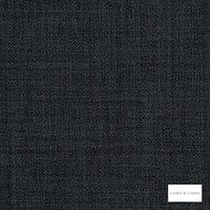 Clarke & Clarke - Linoso Ii Anthrocite  | Curtain & Upholstery fabric - Black, Charcoal, Plain