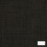 Clarke & Clarke - Linoso Ii Earth  | Curtain & Upholstery fabric - Black, Charcoal, Plain, Strie, Strie