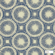 Scion Tree Circles 110254  | Wallpaper, Wallcovering - Blue, Geometric, Midcentury, Commercial Use, Domestic Use, Circles