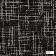 Scion Toma 131275  | Curtain & Upholstery fabric - Black - Charcoal, Organic, Pattern, Synthetic, Commercial Use, Domestic Use, Standard Width