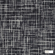 Scion Toma 131277  | Curtain & Upholstery fabric - Black - Charcoal, Industrial, Organic, Pattern, Synthetic, Transitional, Commercial Use, Domestic Use, Standard Width
