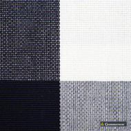Gummerson - Beach Check Navy Uncoated 140cm  | Curtain & Upholstery fabric - Black, Charcoal, Stripe, Uncoated, Gingham, Fibre Blend, Standard Width