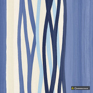 Gummerson - Brooklyn Stripe Royal Softweave 138cm  | Curtain Fabric - Blue, Contemporary, Stripe, Standard Width