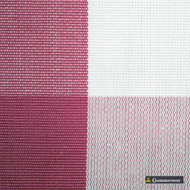 Gummerson - Beach Check Pink Uncoated 140cm  | Curtain & Upholstery fabric - Red, Stripe, Uncoated, Gingham, Fibre Blend, Standard Width
