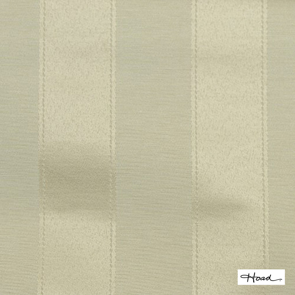 Hoad - Chateau Stripe Calico Uncoated 140cm  | Curtain Fabric - Gold, Yellow, Stripe, Uncoated, Fibre Blend, Standard Width