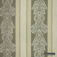 Gummerson - Knightsbridge Taupe Uncoated 280cm    Curtain & Upholstery fabric - Green, Grey, Floral, Garden, Botantical, Wide-Width