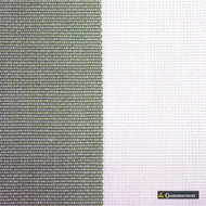 Gummerson - Avalon Stripe Apple Uncoated 140cm  | Curtain Sheer Fabric - Grey, Traditional, Wide-Width, Plain