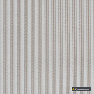 Gummerson - Ticking Stripe Linen Uncoated 140cm  | Curtain Fabric - Fire Retardant, Brown, Uncoated, Plain, Standard Width