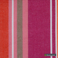 Gummerson - French Stripe Cabaret Uncoated 150cm    Curtain Fabric - Fire Retardant, Black, Charcoal, Stripe, Uncoated, Blockout, Blackout, Dobby