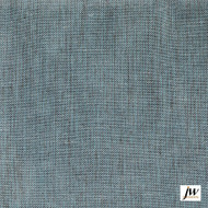 JW-Design - Corfu Azure Sheer 300cm  | Curtain & Curtain lining fabric - Blue, Uncoated, Wide-Width, Plain, Fibre Blend