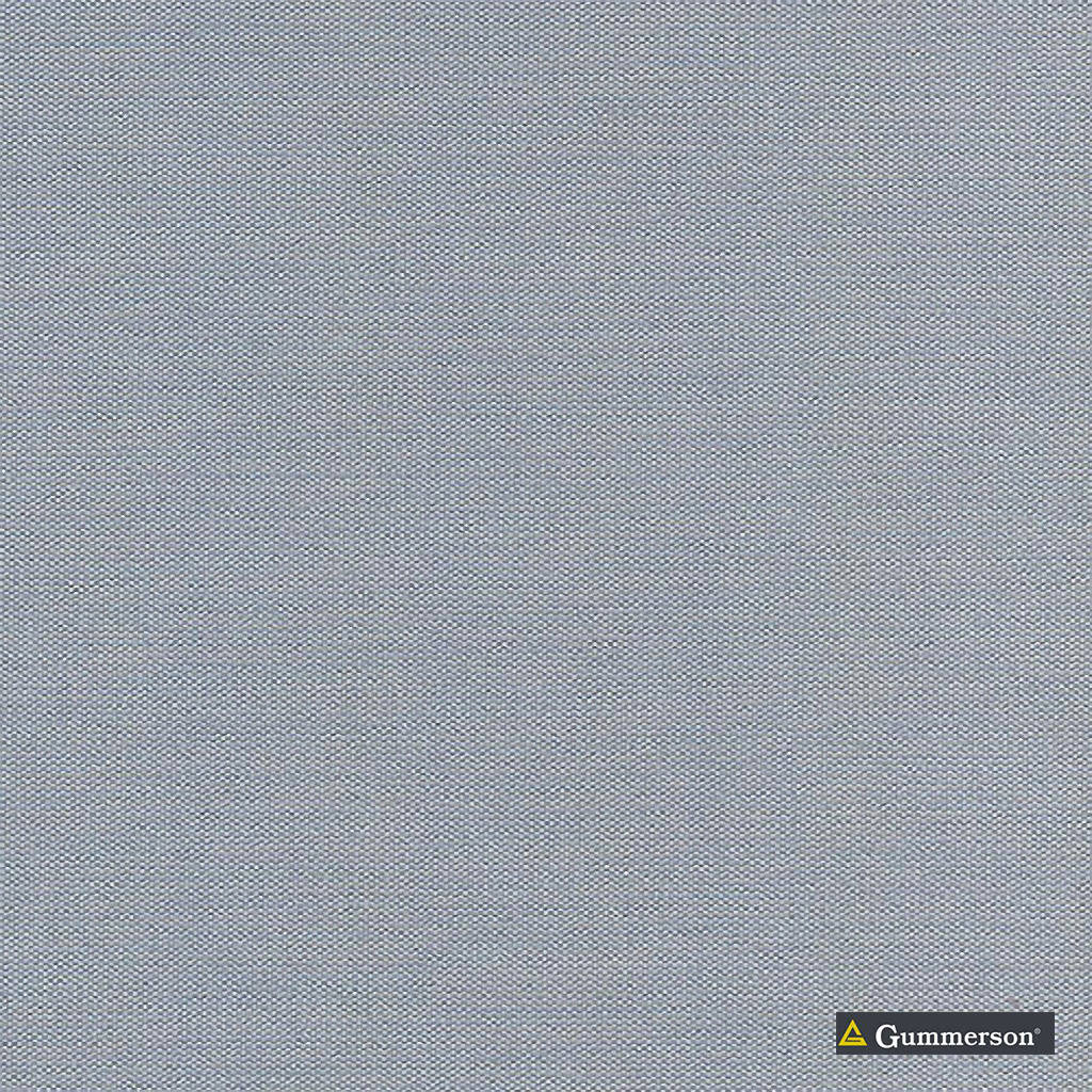 Gummerson - Cmb 320 Steel Blockout 320cm  | Curtain Fabric - Fire Retardant, Brown, Uncoated, Wide-Width, Plain