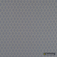 Gummerson - Hampstead Steel Uncoated 280cm  | Curtain Fabric - Grey, Diamond, Harlequin, Wide-Width, Geometric