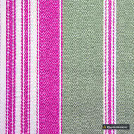 Gummerson - Multi Stripe Sherbet Uncoated 140cm  | Curtain Fabric - Fire Retardant, Pink, Purple, Uncoated, Wide-Width, Plain