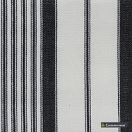 Gummerson - Multi Stripe Black Uncoated 140cm  | Curtain Sheer Fabric - Beige, Wide-Width, Plain